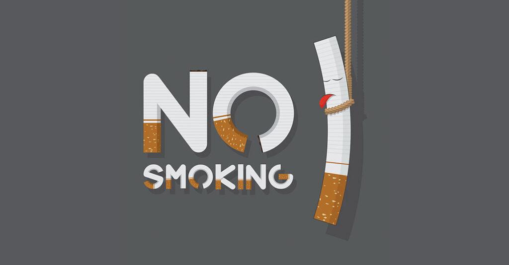งดการสูบบุหรี่